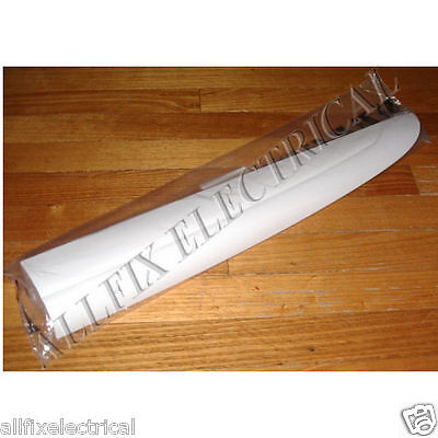 Fisher & Paykel White Plastic Fridge Door Handle - Part # FP883098, RFP033