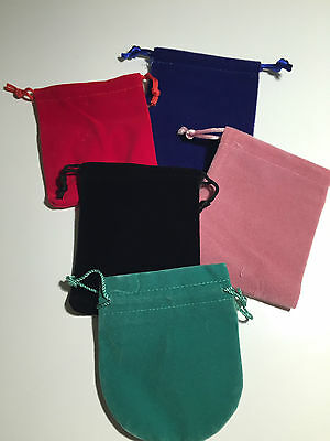 Velvet Jewellery Gift Bag Pouch 6 choices
