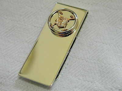 Clogau Sterling Silver & Welsh Gold Wales Polo Money Clip RRP £275.00