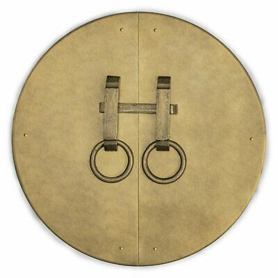 CBH Chinese Cabinet Face Plate Brass Hardware 9.5""