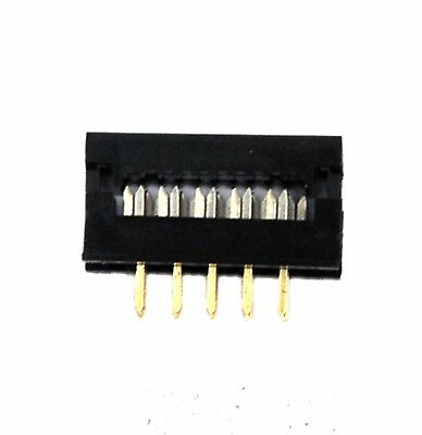 100pc 2x5 10p IDC Cable transition DIP plug ( Board-in Displacement Connector )