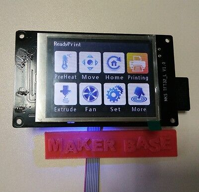 "LCD 3D Printer RepRap 3.2""  MKS touch screen smart controller display F APP WFfi"