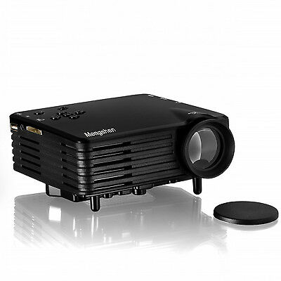 Portable LED Projector With HDMI SD USB RCA VGA Port 480x320p LCD Home Cinema