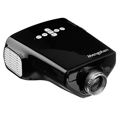 Mini Multimedia LED Projector 320x240p Home Theater with USB/HDMI/VGA/AV Input