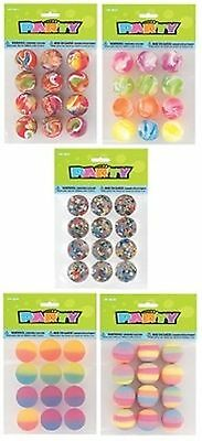 BOUNCY BALLS - Party (Loot) Bag Gifts Toys Fillers Childrens Kids Birthday