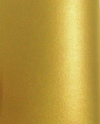 25 SHEETS OF A4 LIGHT GOLD PEARL PAPER. 120gsm