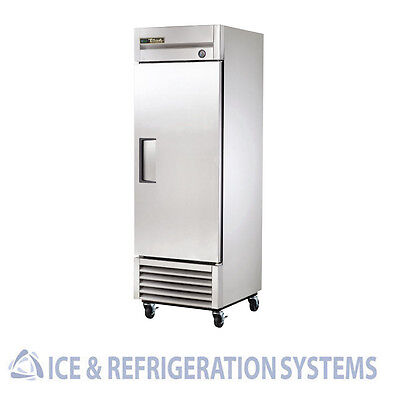 True Commercial Single Door Reach In Freezer T-23F