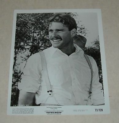 1973 Paramount RYAN O'NEAL in PAPER MOON PUBLICITY MOVIE PHOTO PORTRAIT