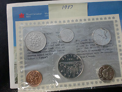 1987 Canada Mint Set In Original Envelope   Ships For Free In The Usa