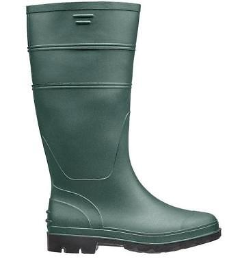 Briers Traditional Green PVC Wellington Boots UK Size 5 Home/Garden