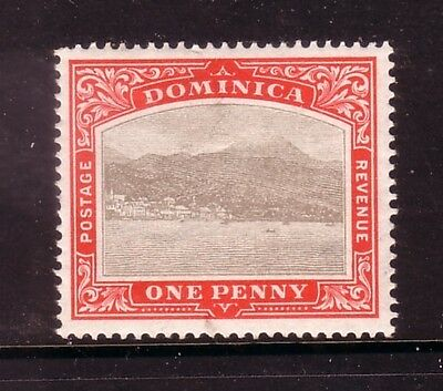 DOMINICA....  1903  1d grey/red mint