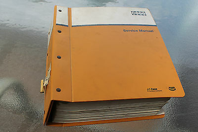Case 1150E 1155E Crawler loader service manual
