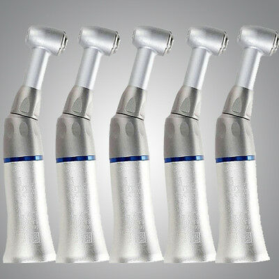 SALE 5PC Dental Slow Low Speed Handpiece Push Button Contra Angle NSK TYPE BEST