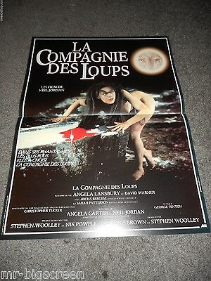 The Company Of Wolves - Original Small Folded French Poster - 1984