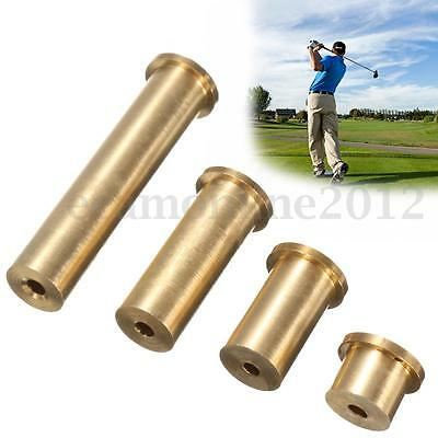 Brass Copper Golf Plug Weight Adapter For .335 and .355 Tip End Steel Shafts New