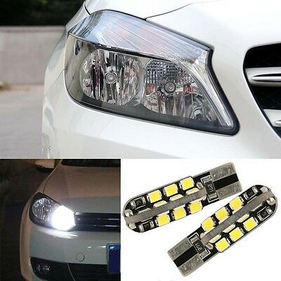 2pcs Advanced LED Car Wedge Warning Light Bulbs Width Lamps For Benz A180
