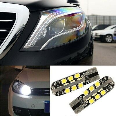 2pcs Advanced LED Car Wedge Warning Light Bulbs Width Lamps For Benz S320