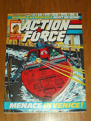 Action Force #47 23Rd January 1988 Marvel British Weekly Comic