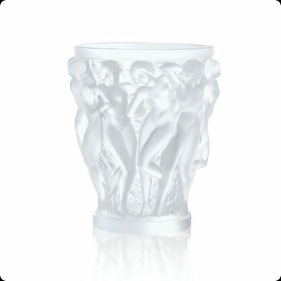 Genuine Signed Handcrafted Lalique Bacchantes Vase Brand New In Box 1220000