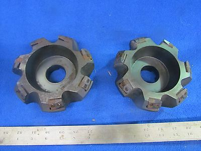 "(2) 6"" Ingersol Indexable Face Mills         E-0149"