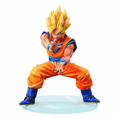 Banpresto Dragon Ball Z Dramatic Showcase S1 V2 Super Saiyan Goku Figure