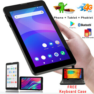 7.0in 3G SmartPhone Android 4.4 Tablet PC w/ Smart Cover AT&T T-Mobile Unlocked!