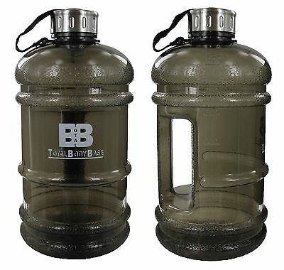 Large 2.2 Litre Water Bottle BPA Free Gym Workout Training Sports Fitness
