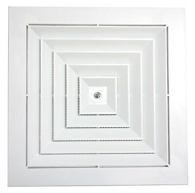 Ceiling Vent | Square | White | 350 x 350mm | SKU SC35