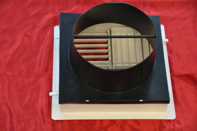 Duct Adaptor for Multi-Directional Outlet   300mm x 300mm   Suits 300mm Ducti...