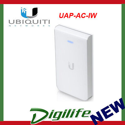 Ubiquiti Networks UAP-AC-IW In-Wall 802.11ac Wireless Access Point with Ethernet