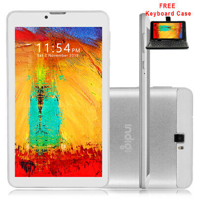 """Slim 7"""" Factory Unlocked GSM + 3G Android 4.4 Tablet PC Smart Phone WiFi Google"""