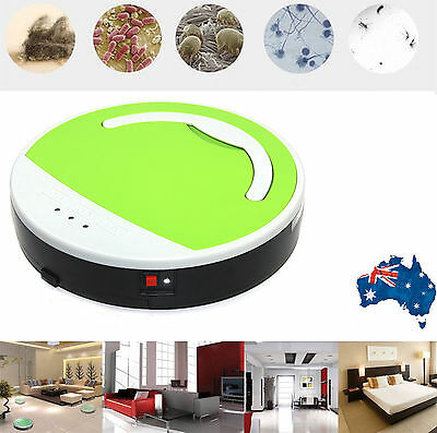 Green Automatic Cleaning Robot Robotic Vacuum Floor Cleaner Sweeper Rechargeable