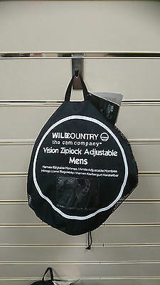 Wild Country Vision Harness Small Version 2 Blue