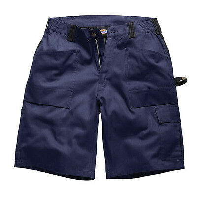 Dickies Grafter Duo Tone Cargo Shorts Work Casual Mobile Pocket - WD4979