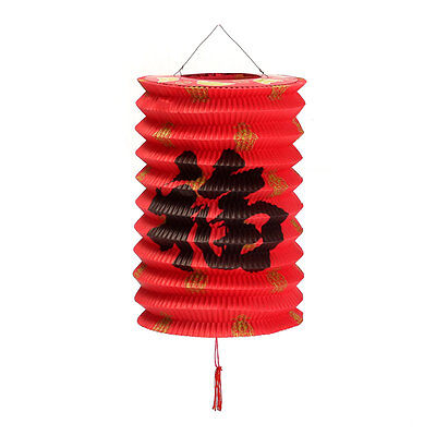 10Pcs Chinese Asian Hanging Paper Lanterns Festival Party New Year Wedding Decor