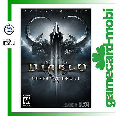 Diablo 3 III Reaper of Souls PC CD Key - Diablo 3 D3 ROS Battlenet Download Code