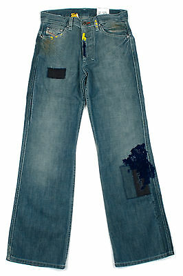 Diesel Boys Jeans Poject Classic Straight Fit Kids Denim Age 6 - 11 Years NEW
