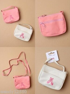 Pack Of 6 Purse / Handbag With Embroidered Ballet Shoe Design : Sp-6208 Pk6