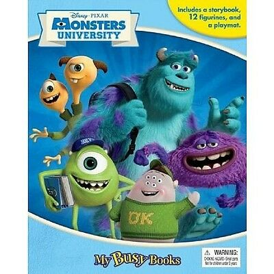 Phidal Publishing Monsters U! My Busy Book