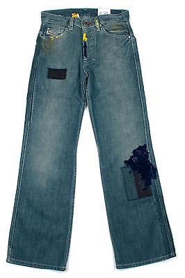 Diesel Boys Jeans Poject Classic Straight Fit Kids Denim Age 14 - 16 Years NEW