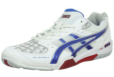 ASICS Gel Blade 4 Mens Indoor Court Shoes -Badminton, Squash, Volleyball-Rg $130