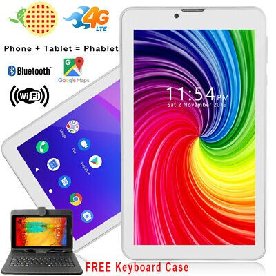 "Factory UNLOCKED!  A76 7"" Tablet PC/Phone 2in1 3G GSM Phone - Smartcover Bundled"