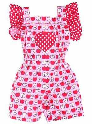 Bambina Classic Apple Playsuit
