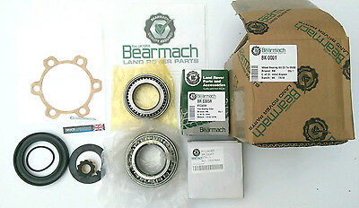 Land Rover Series 2a, 3, Wheel Bearing Kit, Fits Front or Rear Axle, BK0001