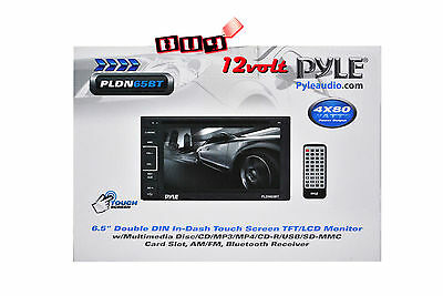"PYLE PLDN65BT 6.5"" Double DIN LCD Touchscreen + FREE SMART REAR VIEW CAMERA"