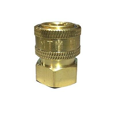 """MTM Hydro 24.0072 Brass Quick Connect Socket 1//2/"""" Male PT"""