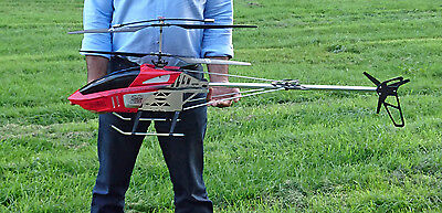"X Large Remote Control Rc Helicopter - Br6508 - 130Cm - 51""- 3.5 Channels - Gyro"