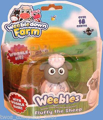 Weebles Fluffy The Sheep From Weebledown Farm New