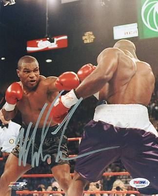 Mike Tyson Boxing Signed Authentic 8X10 Photo Autographed PSA/DNA ITP 1