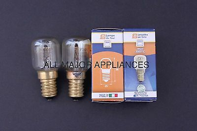 Ilve Oven Lights/globes Dr Fisher Made In Italy 300C Pair 25W